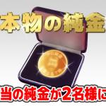 PS純金(ゴールド) 50万円相当の純金を視聴者プレゼント!|中京テレビ